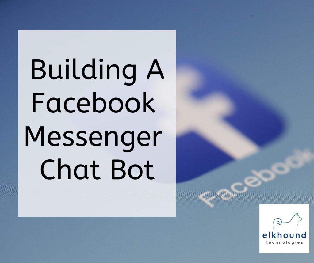 Facebook, messenger, Facebook messenger, not, chat bot